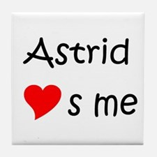 Cool Astrid Tile Coaster