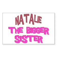 Natalie - The Bigger Sister Rectangle Decal