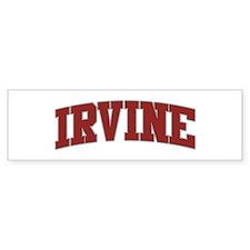 IRVINE Design Bumper Bumper Sticker