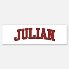 JULIAN Design Bumper Bumper Bumper Sticker