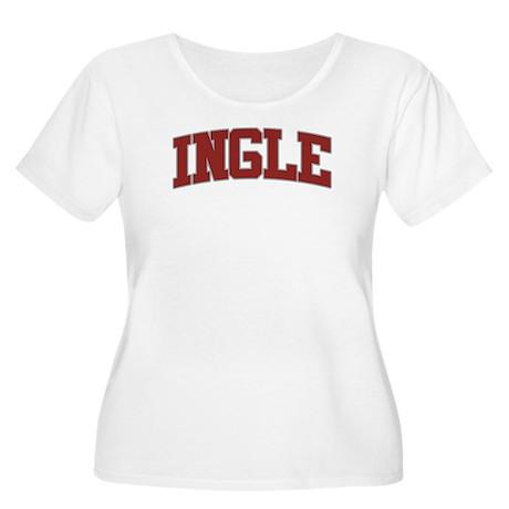 INGLE Design Women's Plus Size Scoop Neck T-Shirt