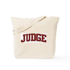 JUDGE Design Tote Bag