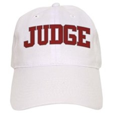 JUDGE Design Baseball Cap