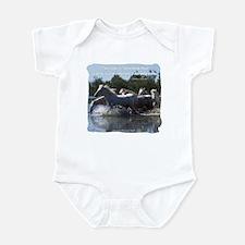 Horses w/ Proverb Infant Bodysuit