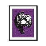 Swami (Purple) Framed Panel Print