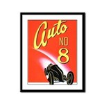 Auto No. 8 Framed Panel Print