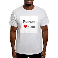 Cute Benton loves me T-Shirt