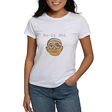 V-10 IDIOT Women's White T-Shirt