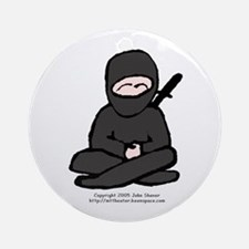Little Ninja Keepsake (Round)