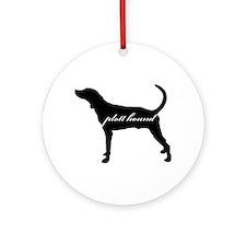 Plott Hound DESIGN Ornament (Round)