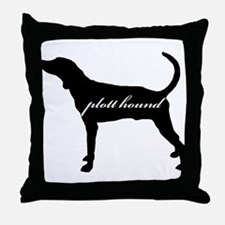 Plott Hound DESIGN Throw Pillow