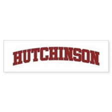HUTCHINSON Design Bumper Bumper Sticker