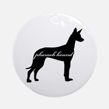 Pharaoh Hound DESIGN Ornament (Round)