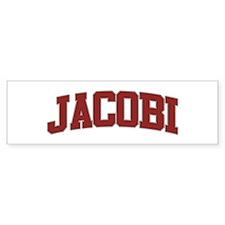 JACOBI Design Bumper Bumper Sticker
