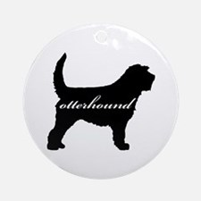 Otterhound DESIGN Ornament (Round)