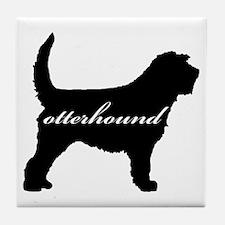 Otterhound DESIGN Tile Coaster