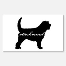 Otterhound DESIGN Rectangle Decal