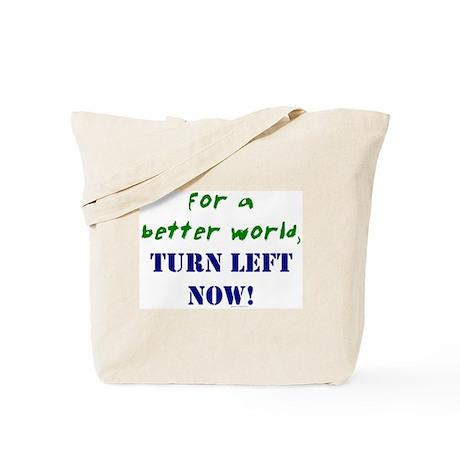 Koy's Logo + TURN LEFT NOW! Tote Bag