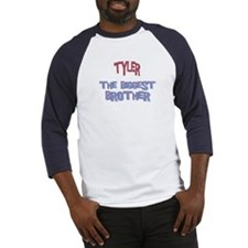 Tyler - The Biggest Brother Baseball Jersey