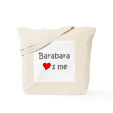 Barabara Tote Bag