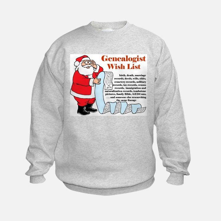 Genealogy Christmas<br> Sweatshirt