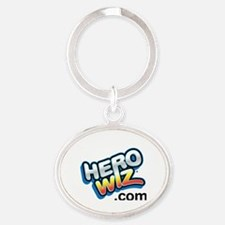 Cute Marvel Oval Keychain