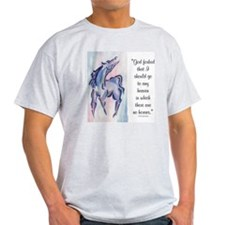 Horse Heaven Ash Grey T-Shirt