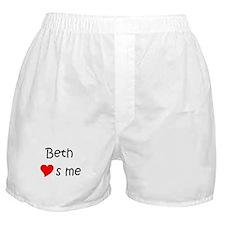 Unique Beth Boxer Shorts