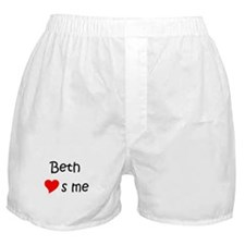 Funny Girlsname Boxer Shorts
