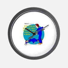 Electrical Safety Wall Clock