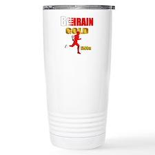 Bahrain 1500m Gold Running Travel Mug