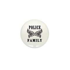 Police Family Mini Button (100 pack)