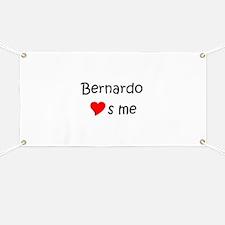 Funny Bernardo Banner
