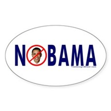 NOBAMA Busters Oval Decal