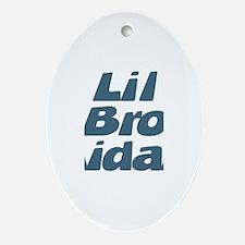 Lil Bro Aidan Oval Ornament
