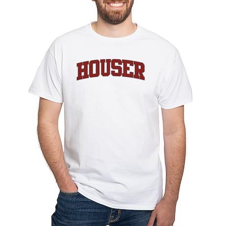 HOUSER Design White T-Shirt