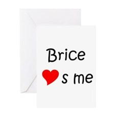 Funny Brice Greeting Card