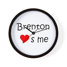 Cute Brenton Wall Clock
