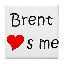 Cool Brent Tile Coaster