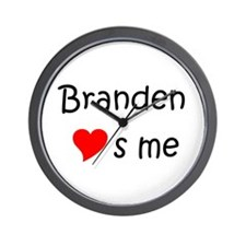 Unique Branden Wall Clock