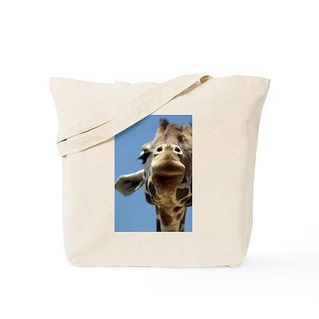 Giraffe Closeup #1 Tote Bag