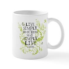 Gandhi Vine - Simply - Green Mug