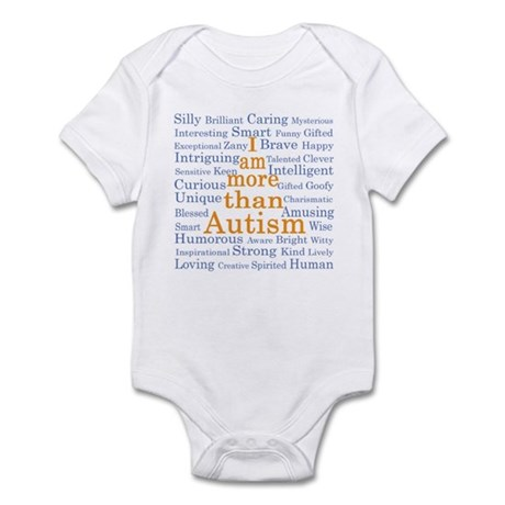 I am more than Autism Infant Bodysuit