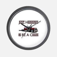 Just Hanging By A Chain Wall Clock