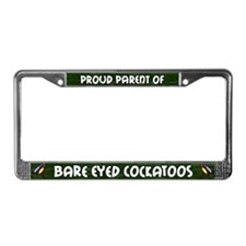 Proud Prnt Multi Bare Eyed Too License Plate Frame
