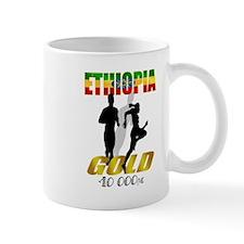 Ethiopian 10 000m Gold Athlet Mug