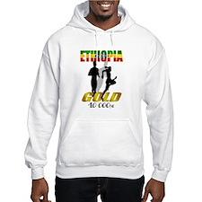 Ethiopian 10 000m Gold Athlet Hoodie