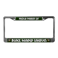 Proud Parent Multi BH Caique License Plate Frame