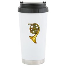 French Horn Travel Mug
