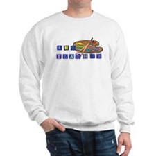 Art Teacher Palette Sweatshirt